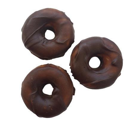 Chocolate Orange Donut Soap   3.5 ozs 4 ozs or 4.5 ozs