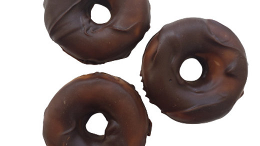 Chocolate Orange Donut Soap | 3.5 ozs