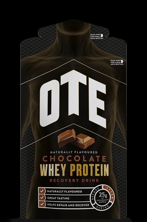 OTE Chocolate Whey & Casein Protein Sachet Box 14