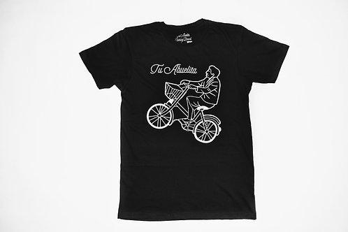 ( black )Tu Abuelita on Bicycle
