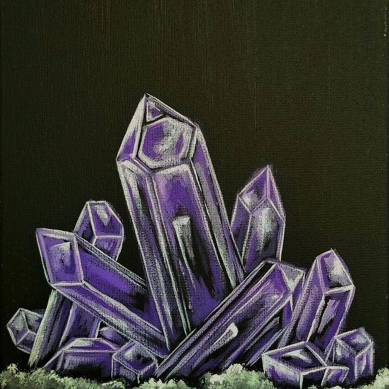 TUESDAY BYOB BLACKLIGHT SPECIAL-  Custom Crystal Paintings