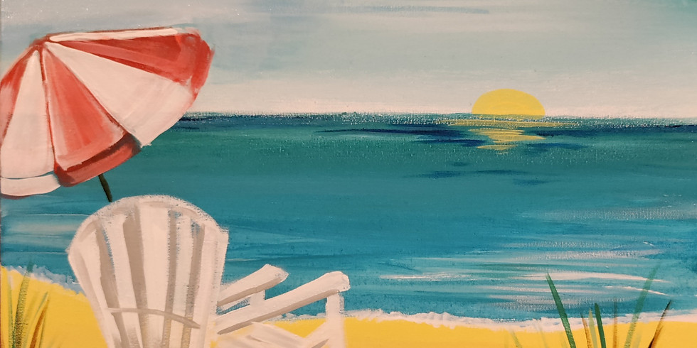 Some Beach Paint Event at The RaceHorse Tavern