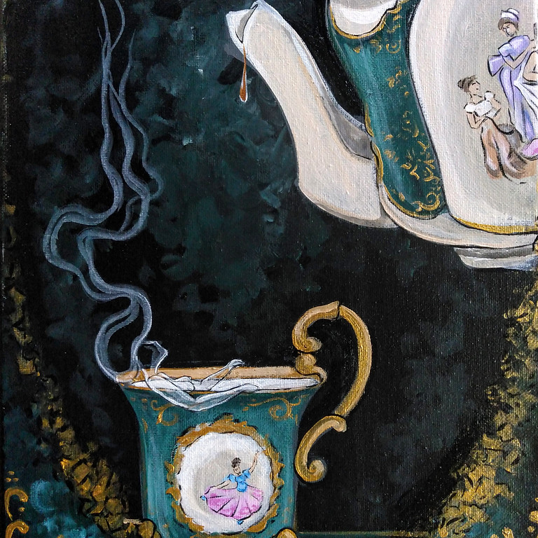 Tea, Tarot, and Palm Reading Event at Ghost Tours on Locust St