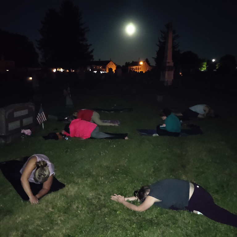October Full Moon Yoga @ Mt. Bethel Cemetery