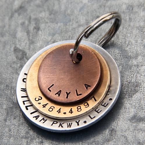 Layla - in Layered Mixed Metal