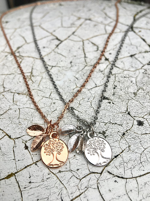 Family Tree Necklace - Perfect for Mothers/Grandmothers