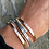 Thumbnail: Skinny Stacking Cuff Bracelet- Great for New Moms