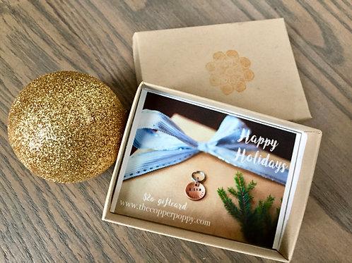 Copper Poppy Gift Card