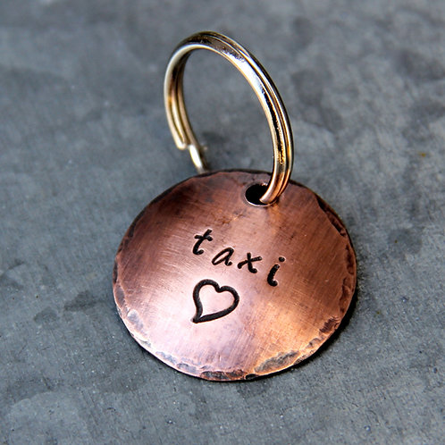 "Design Your Own Tag- 1"" Copper"
