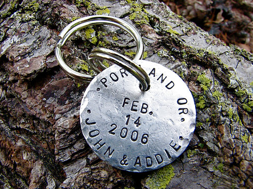 Postmarked with Love - Keychain
