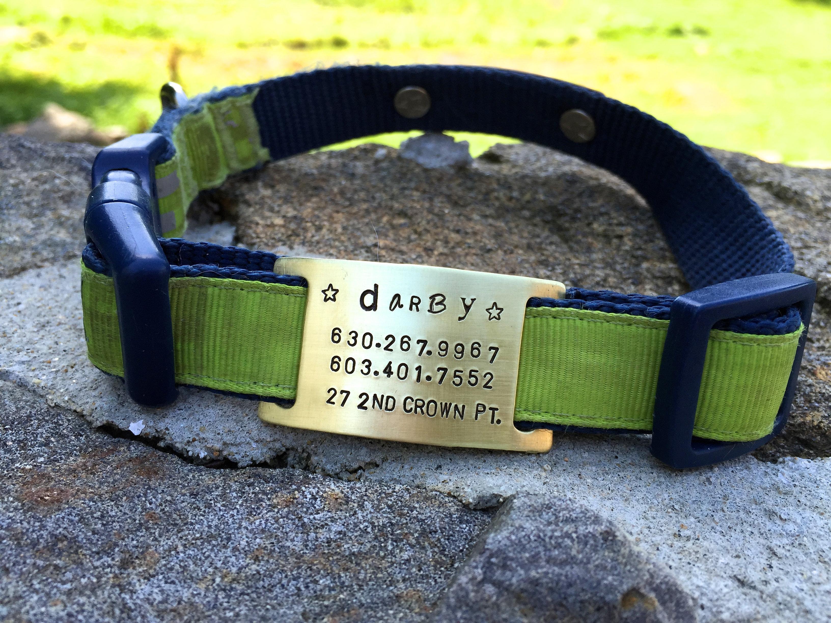 custom pet id tags