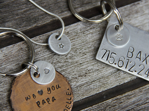 Add A Charm to your Pet ID Tag, Keychain, Necklace
