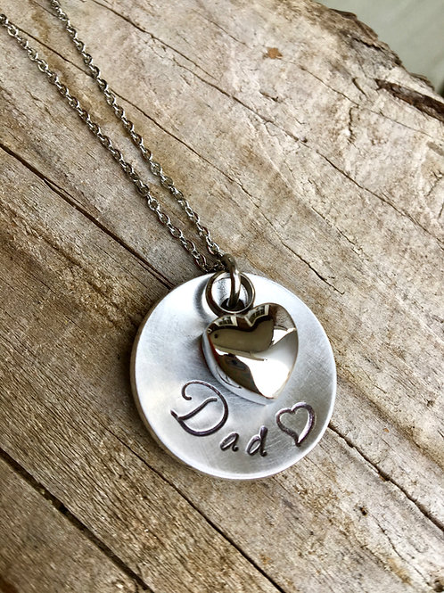 Custom Cremation Urn Necklace - Memorial Necklace - Cremation Jewelry /