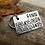 Thumbnail: Custom Pet ID tag - Luca - in Weathered Aluminum