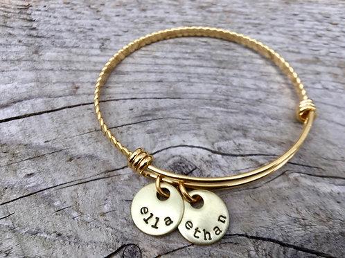 Custom Expandable Mother's Bracelet