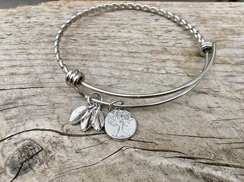 Family Tree Expandable Bracelet