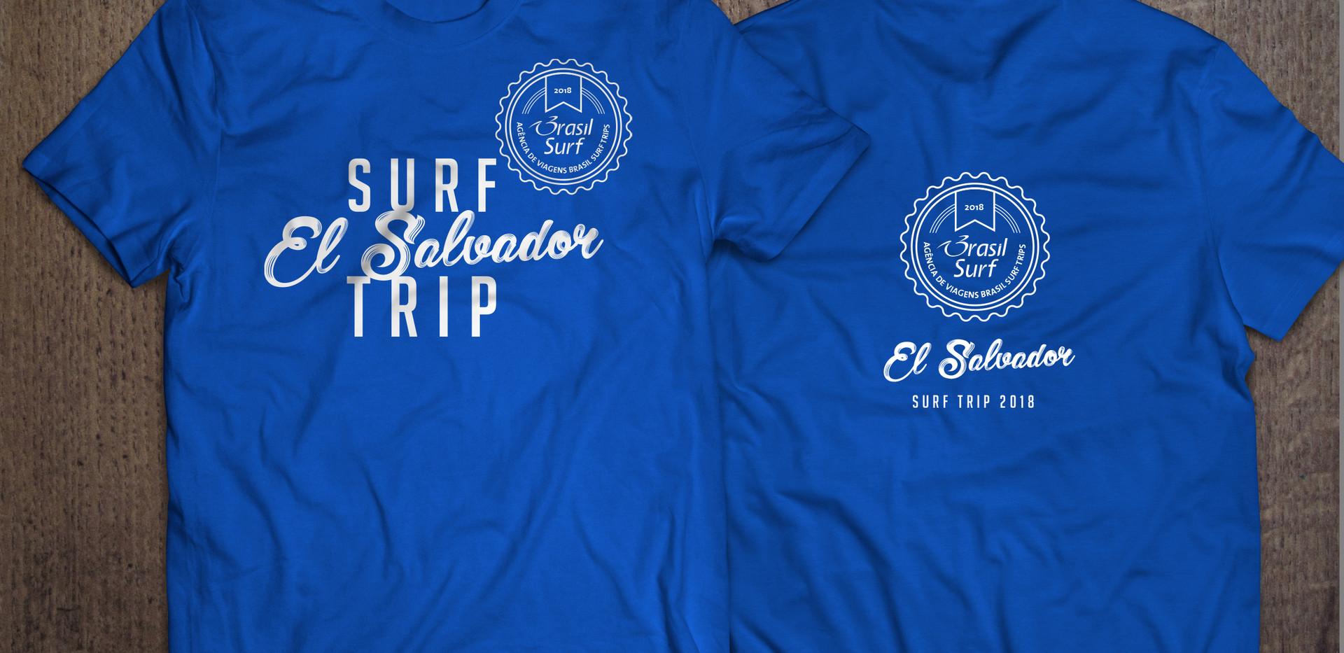 Camiseta Surf Trip El Salvador