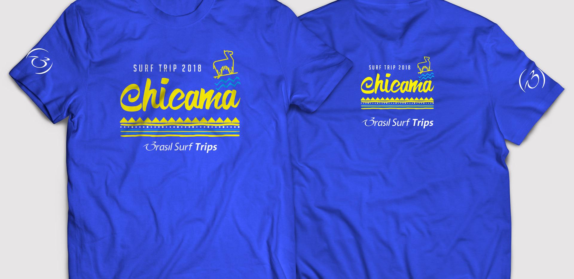 Camiseta Surf Trip Chicama