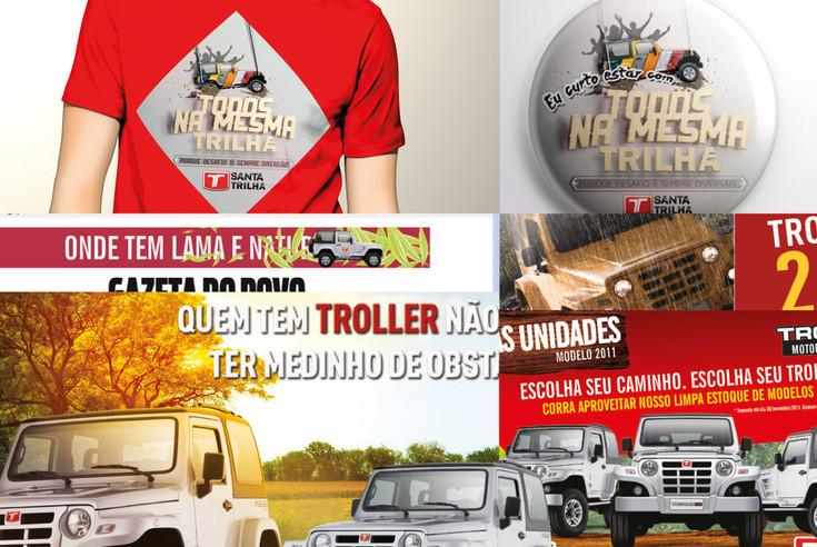 Ação Endomarketing Trilha Eurocar Santa Catarina