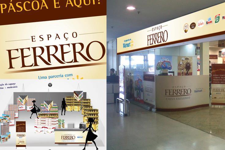Loja exclusiva Ferrero