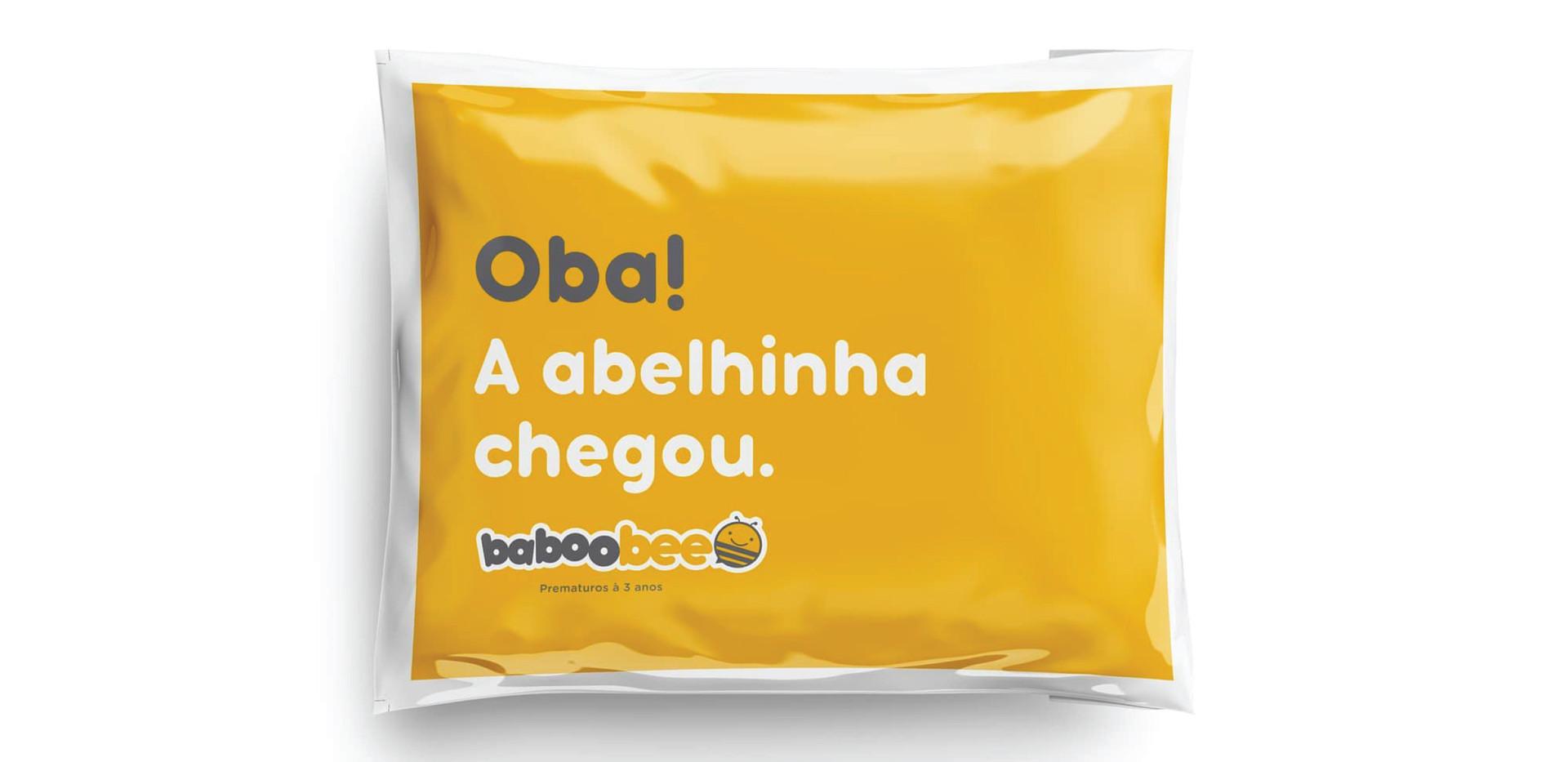 Embalagem Baboobee