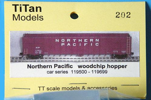 TiTan TT - NP Woodchip Hopper Kit - less t/c