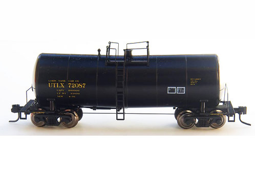Zeuke FunnelFlow Tank Car - Black UTLX 72087