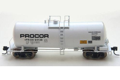 Zeuke FunnelFlow Tank Car - White Procor 64139