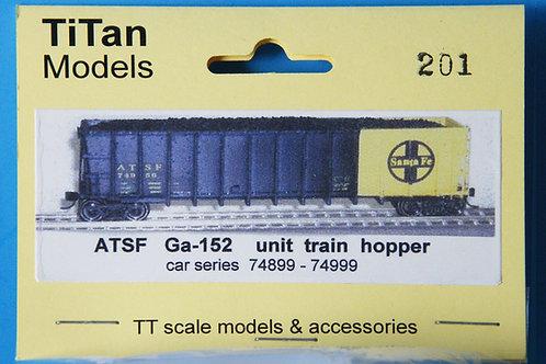 TiTan TT - ATSF Ga-152 Coal Hopper Kit - less t/c