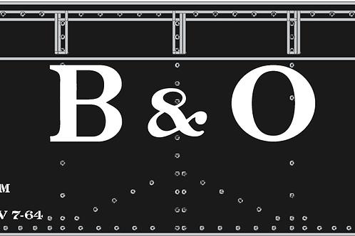 AAR STD 2-bay Hopper Kit; B&O Billboard