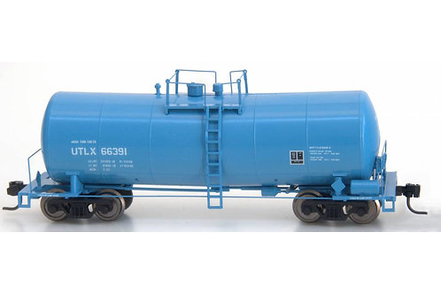 Zeuke FunnelFlow Tank Car - Blue UTLX 66391