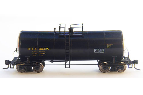 Zeuke FunnelFlow Tank Car - Black UTLX 66028