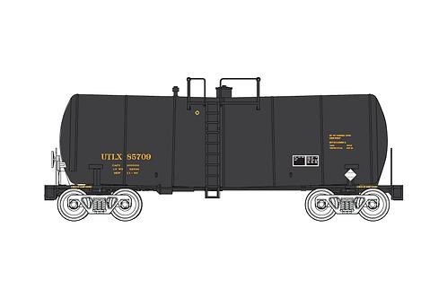 TT-Scale UTLX FunnelFlow Tank Car Decal