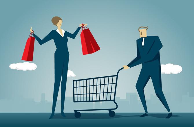Aumentan las ventas al detal un 17.4%