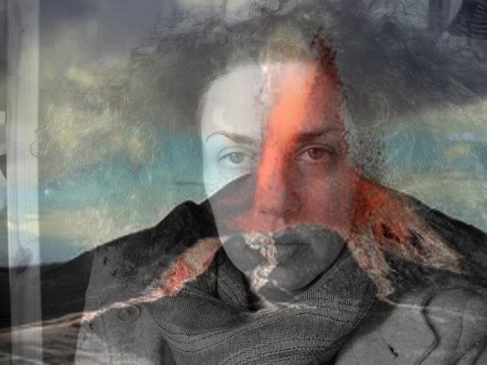 Céline Siani Djiakoua self-portrait photography autobiography diary introspection volcano emotions fire women earth