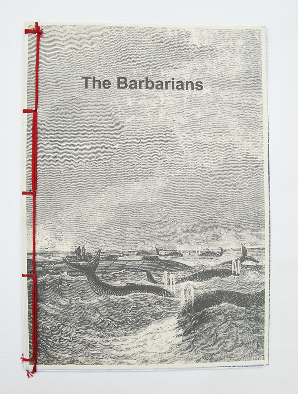 barbarians Jules Verne illustrations story imperialism stereotypes salvages book black and white artbook