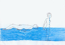 animation drawing gif couple relationship water crying woman man movement
