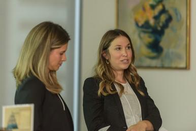 NEXT Co-Chairs, Karen Vadasz and Jennifer Ehrlich