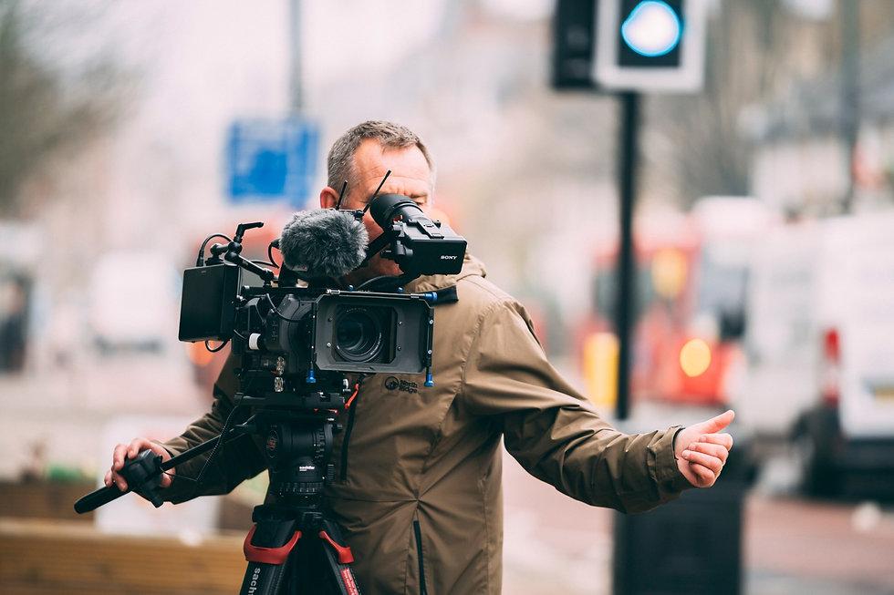 Paul Bunyard, Freelance Cameraman