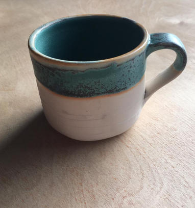 Speckled Dipped Mug