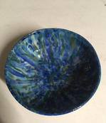 Blue and Green Dish