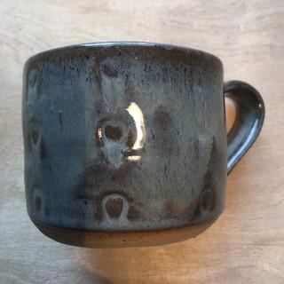 Cloud glaze 'Hearts' mug
