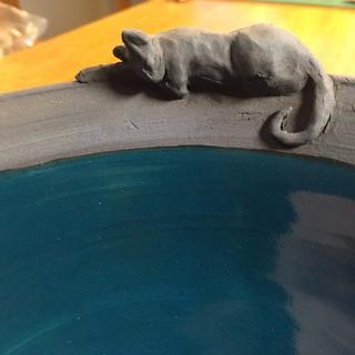 Sleeping Cat Bowl