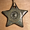 Thumbnail: Turquoise on black clay star