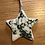 Thumbnail: Copper oxide lace pattern Christmas star