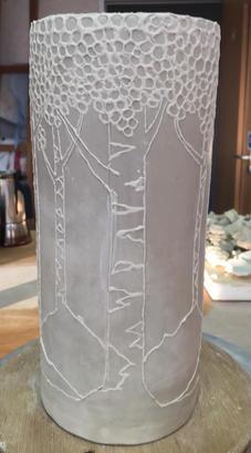 Tall Tree Vase