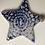 Thumbnail: Cobalt oxide lace pattern star