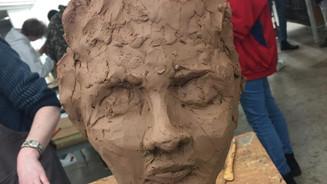 Finished face