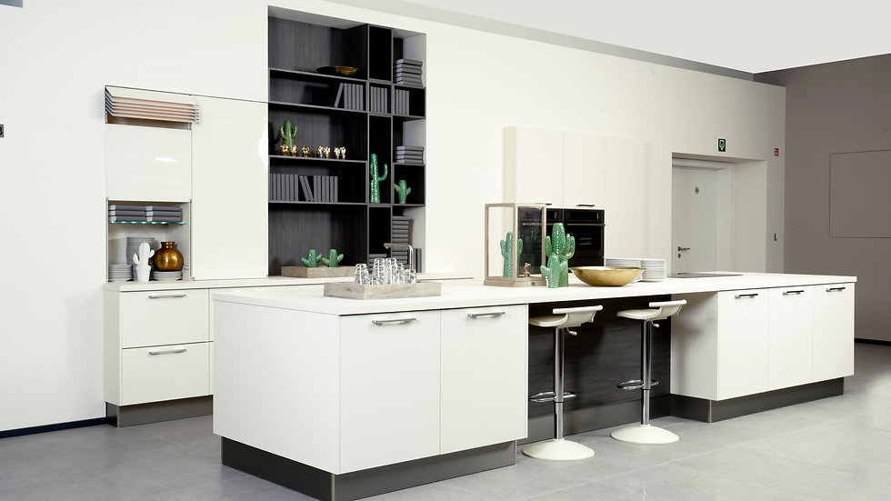 Moderne keuken hcl magnolia