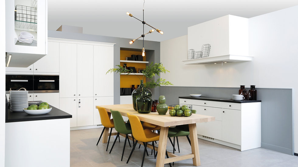 Modern, landelijke keuken | DSM Roeselare